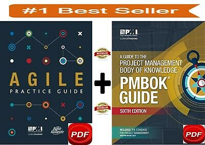 PMI PMBOK Guide 6th Edition 2018➕+Agile Practice Guide- ✅PDF High Quality✅