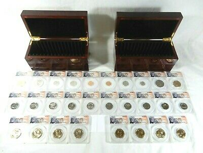 2013 P & D United States Mint SET 28-Coins w/ Boxes ANACS  SP68 FIRST STRIKE
