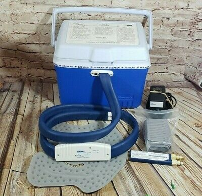 DONJOY ICEMAN CLASSIC 1100 Post Op Cold Therapy Pump with Pad Used