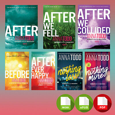 After Series (1-7) by Anna Todd [EB00K] (Pᗪᖴ) ⚡⚡FAST DELIVREY⚡⚡