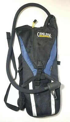 85d49765a7f Camelbak Rogue Hydration Backpack Black Blue Water Pack With Bladder Cycling