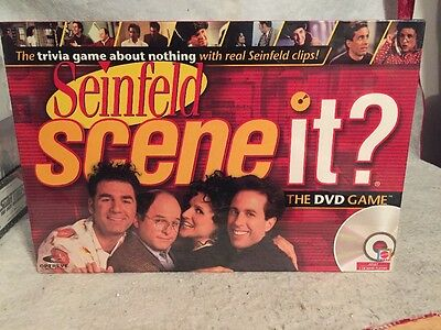 Scene It? Seinfeld The DVD Board Game 2008 New Sealed. Jerry Kramer + Trivia.