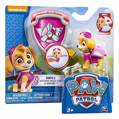 Paw Patrol Action Pack Pup & Badge  SKYE - Brand New