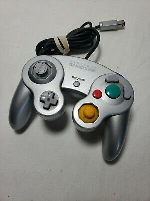 TESTED OEM OFFICIAL Nintendo Platinum Gray Silver Gamecube Controller