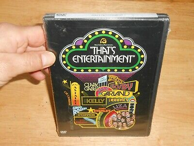 THAT'S ENTERTAINMENT MGM Films/Musicals Classics Excerpts DVD w/SPECIAL FEATURES
