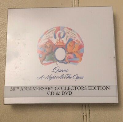 QUEEN - A NIGHT AT THE OPERA: NM 30th ANNIVERSARY COLLECTORS EDITION (CD & DVD)