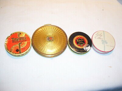 Lot of Antique Vintage Women's Makeup Compacts and Face Powder Cases Victorian