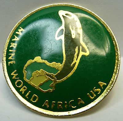Marine World Africa used Hat Lapel Pin Tie Tac HP2870
