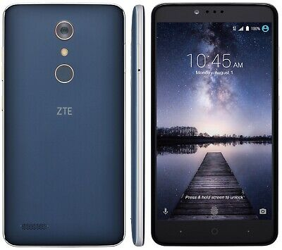 """New ZTE Zmax Pro Z981 32GB 6"""" 4G GSM Unlocked T-Mobile AT&T Straight Talk Lyca"""