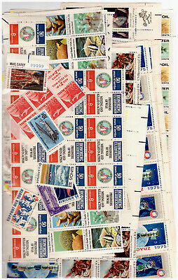 Us $50.00 Face Mint / Nh Postage Lot Of Mostly 6¢ - 15¢ Values