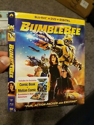 Bumblebee slipcover only NO DVD NO BLU RAY ONLY SLIPCOVER