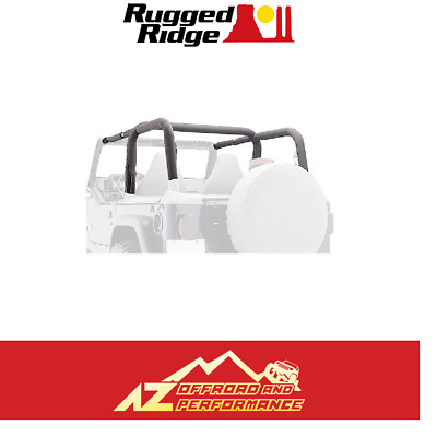 Rampage Roll BAR Pad & Cover Kit - Denim Nero per 97-02 Jeep Wrangler Tj 769015