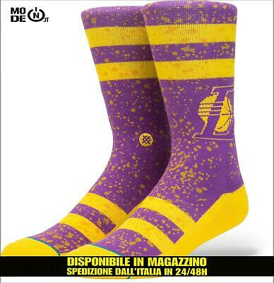 6617884bce237 Collants Stance Chaussettes Surpulvérisation Croquis Vernis NBA Los Angel  Lakers