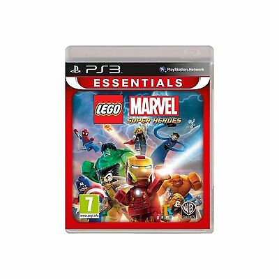 PS3 Lego Marvel: Super Heroes Game for Sony PLAYSTATION 3 New