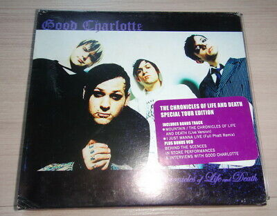 Special Tour Edit. Thai Promo CD & VCD Good Charlotte Chronicles Of Life & Death