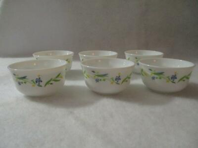 e25f1c0fcf02 6 Piece Set Milk Glass by Rak Glass Made In UAE Custard Dipping Bowls  Excellent