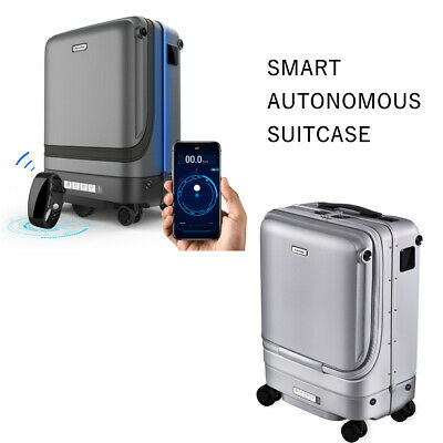 Smart Intelligent Auto FOLLOW ME Suitcase Luggage USB Charger App Remote Control