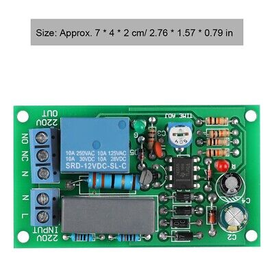 LAN ETHERNET RELAY Board Delay Switch TCP/UDP Controller