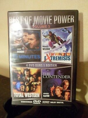 4 DVD - BEST OF MOVIE POWER - Vol. 3 - 4 Films - Français : Anglais