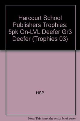 Harcourt School Publishers Trophies: On Level Individual Reader 5-Pack Grade 3 D