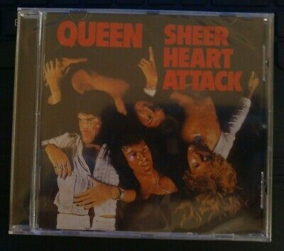 Queen Sheer Heart Attack 2011 REMASTERED CD NEW IMPORT