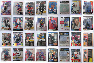 SUPER COLLECTION Wayne Gretzky inserts/parallels x 138 nice rare