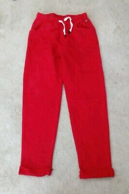 Girl's  slim tracksuit Trousers, Age 7 - 8 Years 100% Cotton