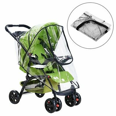 Rain Cover Raincover For Universal Buggy Pushchair Stroller Pram Baby Car US