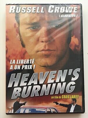 Heaven's burning DVD NEUF SOUS BLISTER Russell Crowe