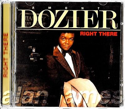 Lamont Dozier RIGHT THERE 2001 UK CD OSR OOP