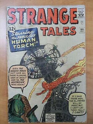 STRANGE TALES #101_OCT 1962_VG_1st APP 1ST APPEARANCE SOLO HUMAN TORCH