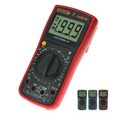 ANENG AN881 B+Display LCD Digital Multimeter Handed Temprature AC DC Tester JL