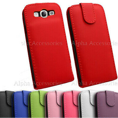 Samsung Galaxy S3 SIII i9300 HQ PU Leather Flip Case Cover With Magnetic Closure