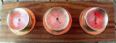 Wetterstation Barometer, Hygrometer, Thermometer Springfield Usa