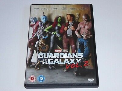 Guardians Of The Galaxy 2 (2017) - Chris Pratt - GENUINE UK DVD - EXCEL CONDIT