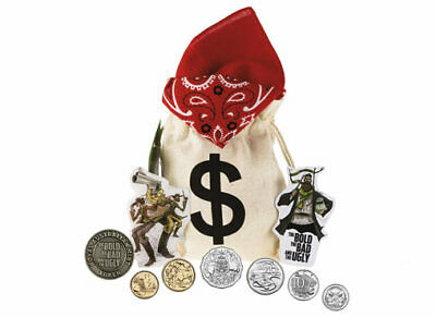 !!NEW RELEASE 2019 SET OF COIN !! Bushrangers loot bag and token
