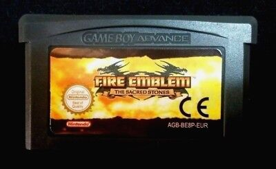 Fire Emblem The Sacred Stones Game Boy Advance