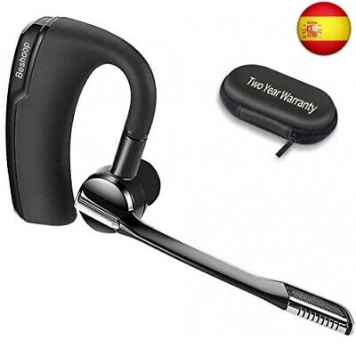 Auricular Bluetooth, Ultra Peso Ligero 12g Manos Libres Bluetooth  (K6 Black)