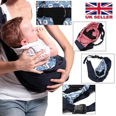 UK Baby Carrier Newborn Infant Sling Wrap Breastfeeding Papoose Nursing Pouch