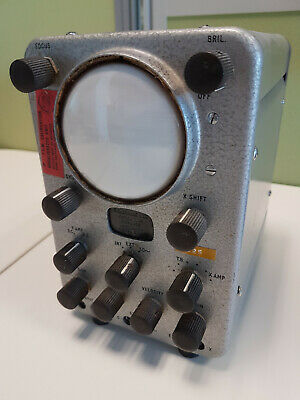 Antique oscilloscope with history!