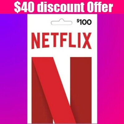 NETFLIX GIFT CARD $120⭐⭐⭐Lowest⭐⭐⭐ 40$ DISCOUNT