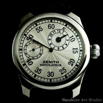 Vintage Men's Wrist Watch ZENITH Regulateur Noble Design Mens Wristwatch Swiss