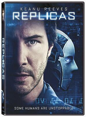 Replicas Keanu Reeves Jeffrey Nachmanoff PG-13 DVD English FREE SHIPPING NEW