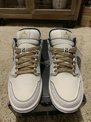 09114678bdb NIKE AIR JORDAN 1 Phat Low Derek Jeter PE DS QS NY YANKEES 10.5 ...