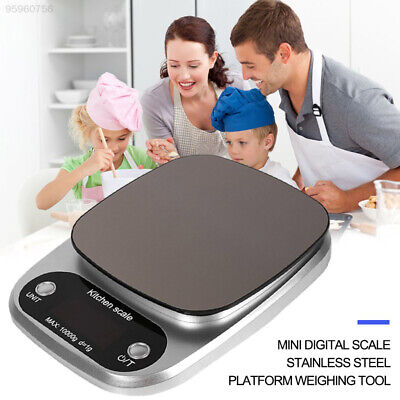 FC95 Stainless Steel Digital Scale 10kg/1g Cooking Tool Practical Kitchen Scale