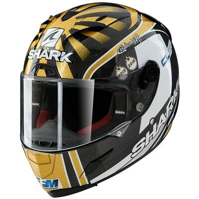 2018 Shark Race R Pro Carbon Zarco Limited Edition Motorcycle Full Face Helmet