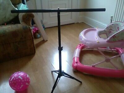 T Backdrop Stand PVC Background Photo Studio Photography Support System UK