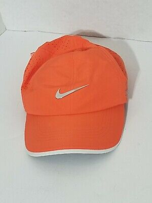separation shoes 79bc9 9fc67 Nike RZN VRS Golf Hat Cap Orange Breathable Athletic Outdoor Casual Hat