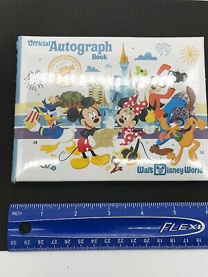 Sealed Walt Disney World Four Parks Mickey Mouse Official Autograph Book