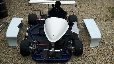 F1 Superkart rolling chassis and spares
